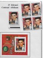 Centrafricaine 1988; Nice Collection Chess Kasparov - Zentralafrik. Republik