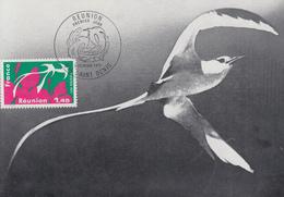 Carte  Maximum  1er  Jour   FRANCE     Région  :   REUNION    SAINT  DENIS   1977 - Cartes-Maximum