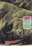 Carte  Maximum  1er  Jour   FRANCE     Région  :   MARTINIQUE    FORT  DE  FRANCE    1977 - Cartes-Maximum