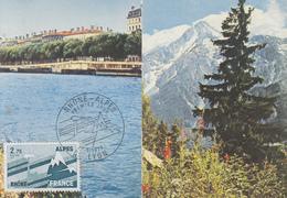 Carte  Maximum  1er  Jour   FRANCE     Région  :   RHONE  ALPES      LYON    1977 - Cartes-Maximum