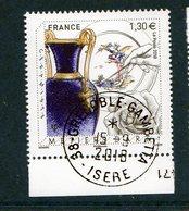 France 2018.Métiers D'Art.Cachet Rond Gomme D'origine. - France