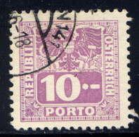 AUTRICHE  - T184°  - CHIFFRE - Postage Due