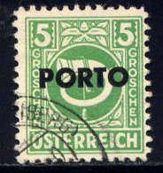 AUTRICHE  - T186° - COR DE POSTE - Postage Due