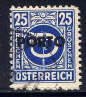 AUTRICHE  - T193° - COR DE POSTE - Postage Due