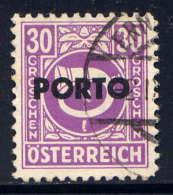 AUTRICHE  - T194° - COR DE POSTE - Postage Due