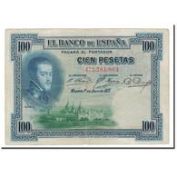 Billet, Espagne, 100 Pesetas, 1925, 1925-07-01, KM:69a, TB - [ 1] …-1931 : First Banknotes (Banco De España)