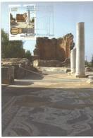 Archeology In Estoi (Algarve - Portugal) - Roman Ruins Of Milreu - Cartes-maximum (CM)