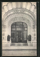 CPA Paris, Hotel Astoria, Porte D'entrée, Rue De Presbourg - Cafés, Hôtels, Restaurants