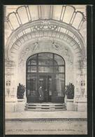 CPA Paris, Hotel Astoria, Porte D'entrée, Rue De Presbourg - Cafés, Hotels, Restaurants