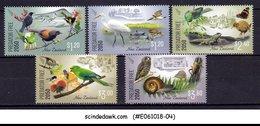 NEW ZEALAND - 2018 PREDATOR FREE 2050 / BIRDS - 5V - MINT NH - New Zealand