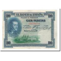 Billet, Espagne, 100 Pesetas, 1925, 1925-07-01, KM:69a, TTB - [ 1] …-1931 : First Banknotes (Banco De España)