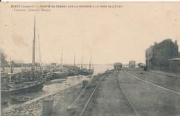 Blaye (33 - Gironde) Sortie Du Chenal Sur La Gironde à La Gare De L'état - Canal Rivière - édit Legoff - Blaye