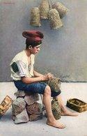 ITALIA-NAPOLI-PESCATORE-1920-NON VIAGGIATA - Pesca