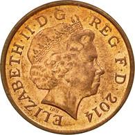Monnaie, Grande-Bretagne, Penny, 2014, TTB, Copper Plated Steel - 1971-… : Monnaies Décimales