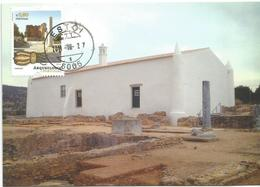Arqueologia Em Estoi (Algarve - Portugal) - Cartes-maximum (CM)
