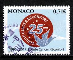 Monaco, Yv 3104 Jaar 2017, Gestempeld, Zie Scan - Monaco
