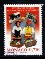 Monaco, Yv 3106 Jaar 2017, Gestempeld, Zie Scan - Monaco