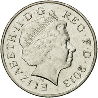 Monnaie, Grande-Bretagne, 10 Pence, 2013, TTB, Nickel Plated Steel - 1971-… : Monnaies Décimales
