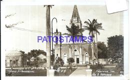 100924 MEXICO FRONTERA TABASCO TEMPLO PARROQUIAL POSTAL POSTCARD - Mexique