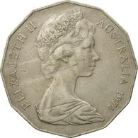 Monnaie, Australie, Elizabeth II, 50 Cents, 1971, TTB, Copper-nickel, KM:68 - Monnaie Décimale (1966-...)