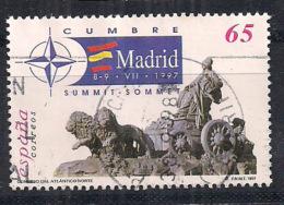 SPAGNA  1997 VERTICE DELLA NATO UNIF. 3072 USATO VF - 1931-Oggi: 2. Rep. - ... Juan Carlos I