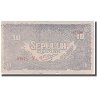 Billet, Indonésie, 10 Rupiah, 1948, 1948-01-01, KM:S190c, TTB - Indonésie