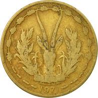 Monnaie, West African States, 25 Francs, 1971, Paris, TB, Aluminum-Bronze, KM:5 - Côte-d'Ivoire