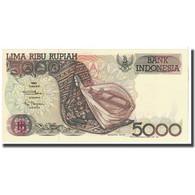 Billet, Indonésie, 5000 Rupiah, 1992, KM:130a, SPL - Indonésie