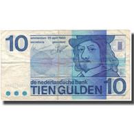 Billet, Pays-Bas, 10 Gulden, 1968, 1968-04-25, KM:91b, TB - [2] 1815-… : Kingdom Of The Netherlands