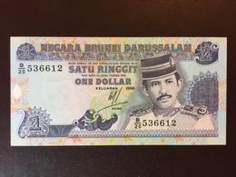 BRUNEI P13B 1 DOLLAR 1994 UNC - Brunei