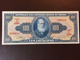 BRAZIL P170B 100 CRUZEIRO 1964 UNC - Brazil