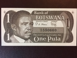 BOSTWANA P6A 1 PULA 1983 UNC - Botswana