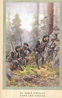 Un Poste D' Ecoute Dans Les Vosges   DE Pierre Camba ILLUSTRATEUR  ( Guerre 1918 - 1918 ) - Illustrators & Photographers