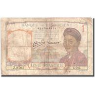 Billet, FRENCH INDO-CHINA, 1 Piastre, Undated (1932-1939), KM:54c, B - Indochine