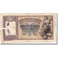 Billet, Albania, 100 Franga, Undated (1940), KM:8, B - Albanie