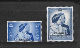 TANGER 1948 NOCES D'ARGENT  YVERT N° NEUF MLH* - Uffici In Marocco / Tangeri (…-1958)