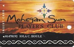 Mohegan Sun Casino - Uncasville, CT USA - Slot Card - Casino Cards