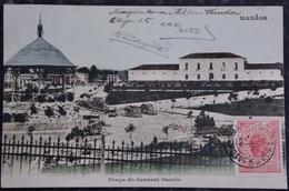 CPA Postcard Brazil Brasil - MANAUS MANAOS - Praça Do General Osorio 1907 - Manaus