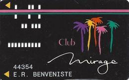 Mirage Casino Las Vegas NV - 3rd Issue Slot Card - No Patent# - Printed - Casino Cards