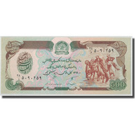 Billet, Afghanistan, 500 Afghanis, SH1369 (1990), KM:60a, NEUF - Afghanistan