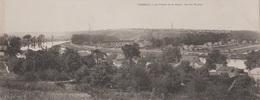 CPA GEANTE FRANCE PANORAMIQUE 28 X 11 Cms 91 CORBEIL La Vallée De La Seine Vue Du Perray 1904 - Corbeil Essonnes
