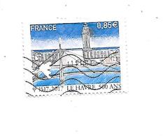 Série Touristique 500ème Anniversaire De La Fondation Du Havre 5166 Oblitéré 2017 - France