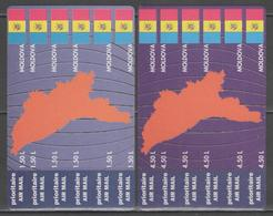 MOLDAVIE:  PA.n°9/20 **, Les 2 Cartes      - Cote 20€ - - Moldavie