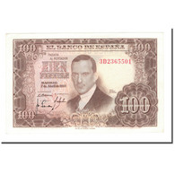 Billet, Espagne, 100 Pesetas, 1955, 1953-04-07, KM:145a, SPL - 100 Pesetas