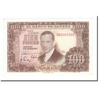 Billet, Espagne, 100 Pesetas, 1955, 1953-04-07, KM:145a, SPL - [ 3] 1936-1975 : Regency Of Franco