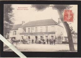 Yvelines - Magnanville - Café Alimentetion , Entrée De L'avenue - Magnanville