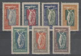 LITUANIE:  PA.n°1/7 *      - Cote 21€ - - Lithuania