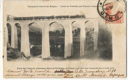 Ferrocaril Central De Aragon Valencia Teruel Calatayud Viaducto Albentosa Mora De Rubiejos Jarestrea Putna Romania - Vari
