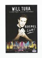 WILL TURA - GOSPEL Live - Fotokaart -  Pepsi Music - Radio 2 (6021) - Chanteurs & Musiciens