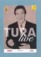 WILL TURA - TURA LIVE - Fotokaart - Gemeentekrediet - Radio 2 - Telenet (6025) - Chanteurs & Musiciens